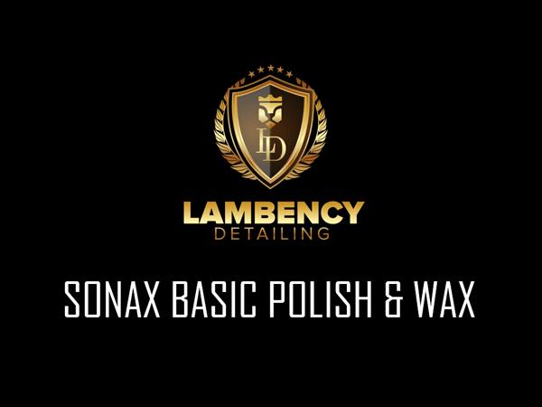 basic polish wax   Lambency Detailing
