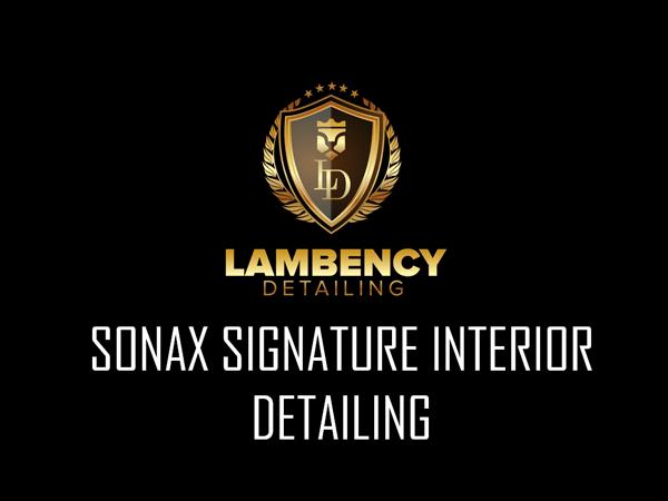 Signature Interior Detailing   Lambency Detailing