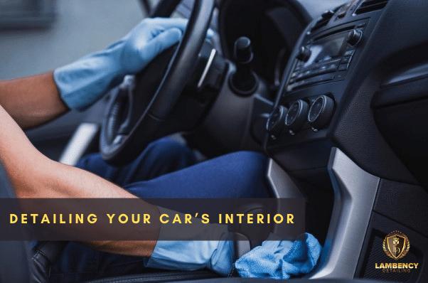 Car Interior Detailing | Lambency Detailing