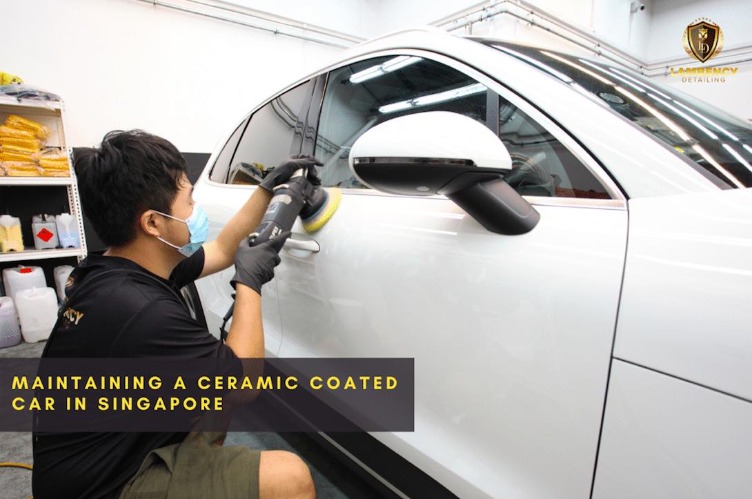 ceramic coating a car | Lambency Detailing