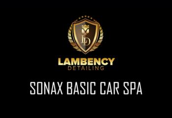 basic car spa   Lambency Detailing
